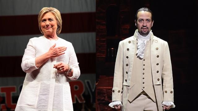 Hillary Clinton Is Probably Your Best Shot at 'Hamilton' Tickets