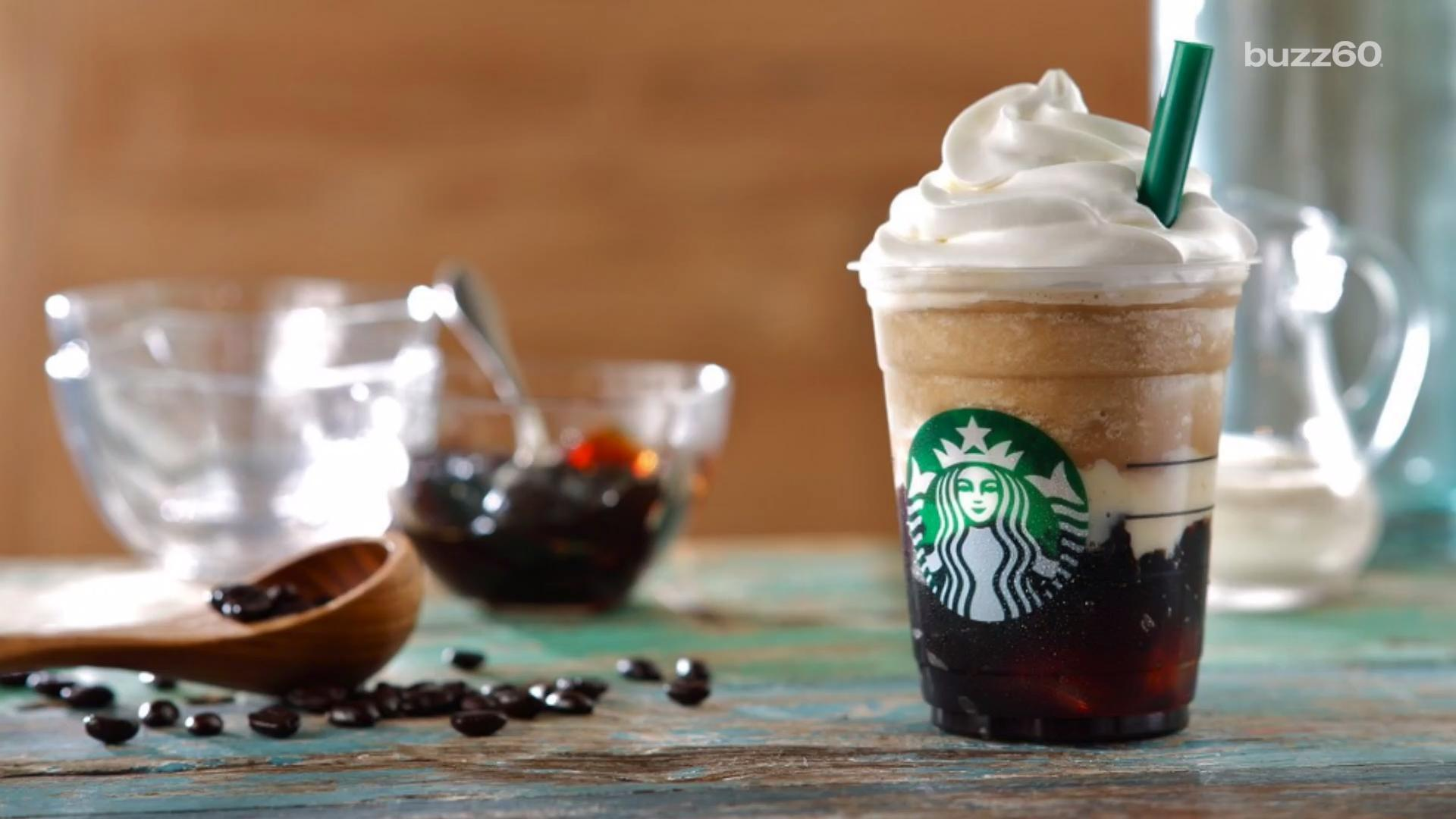 Starbucks Introducing Coffee Jelly Frappuccino in Japan