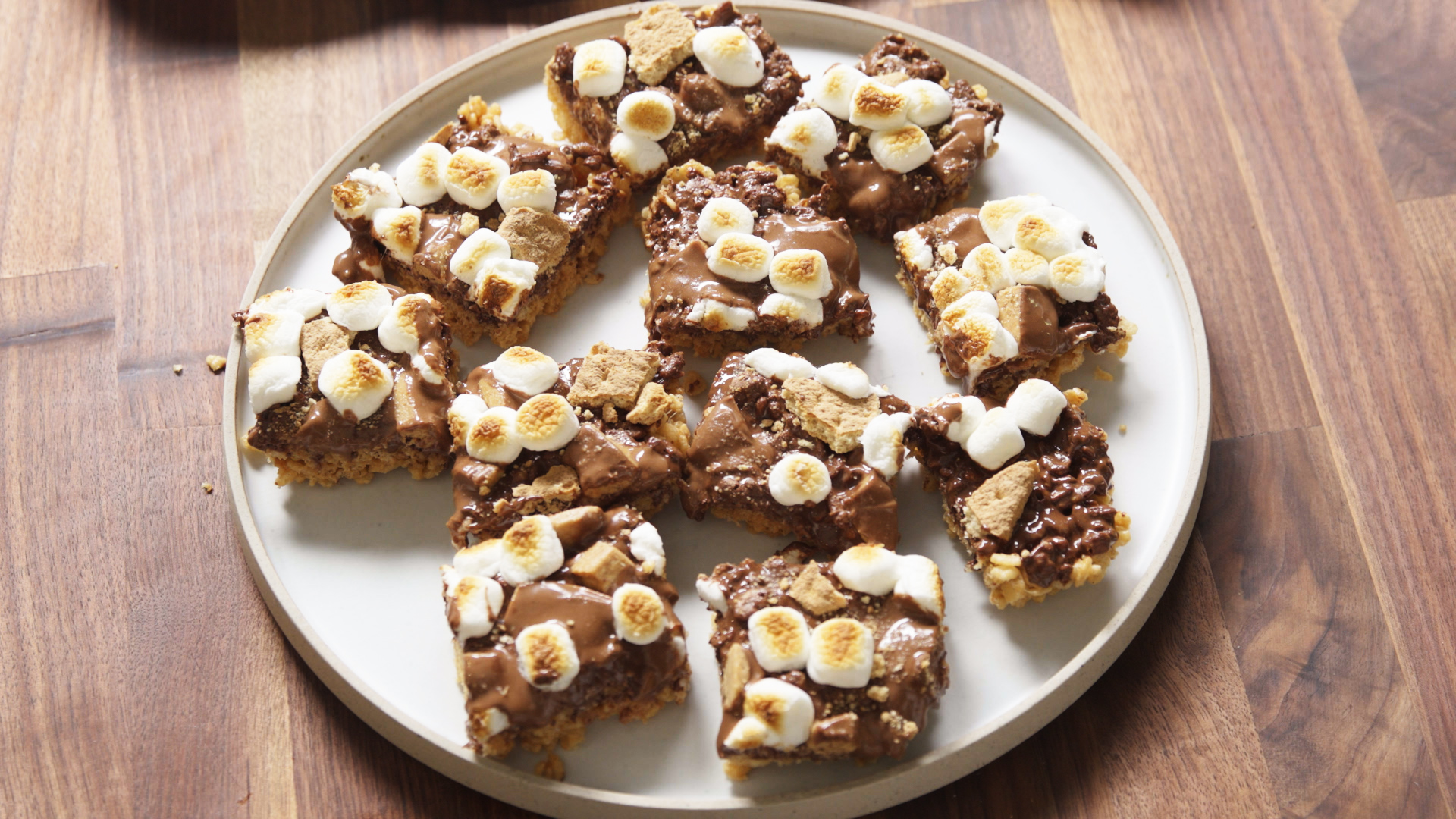 Reese's S'mores Bars