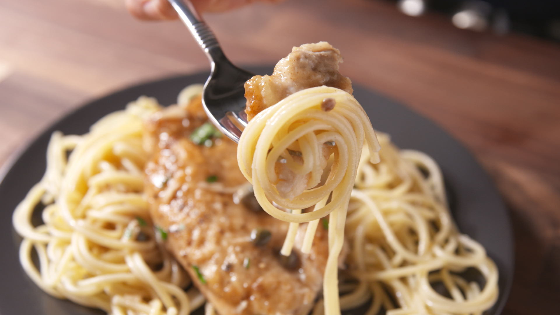 How to Garlicky Chicken Piccata