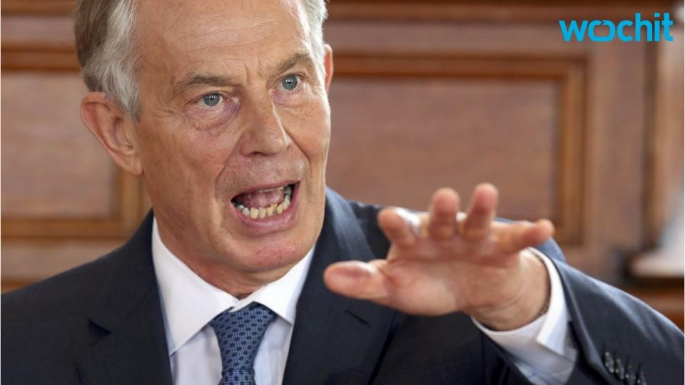Tony Blair in New York Says Brexit Biggest Decision Since World War 2