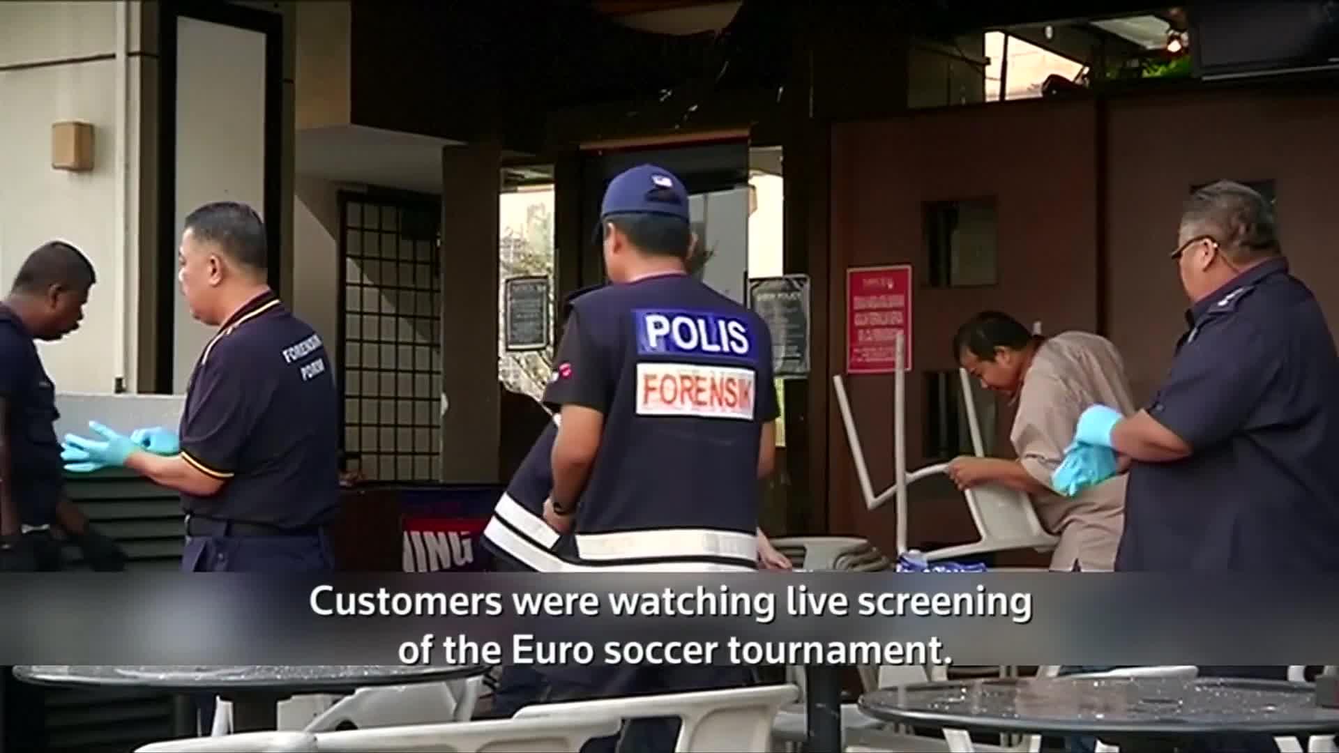 Grenade blast at Malaysian pub