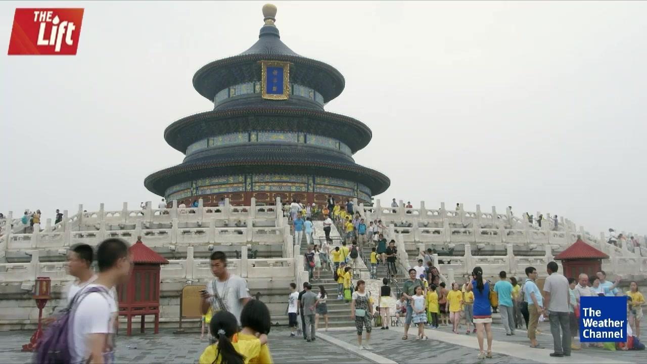 Report: Beijing is Sinking