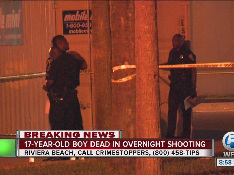 17-year-old fatally shot in Riviera Beach