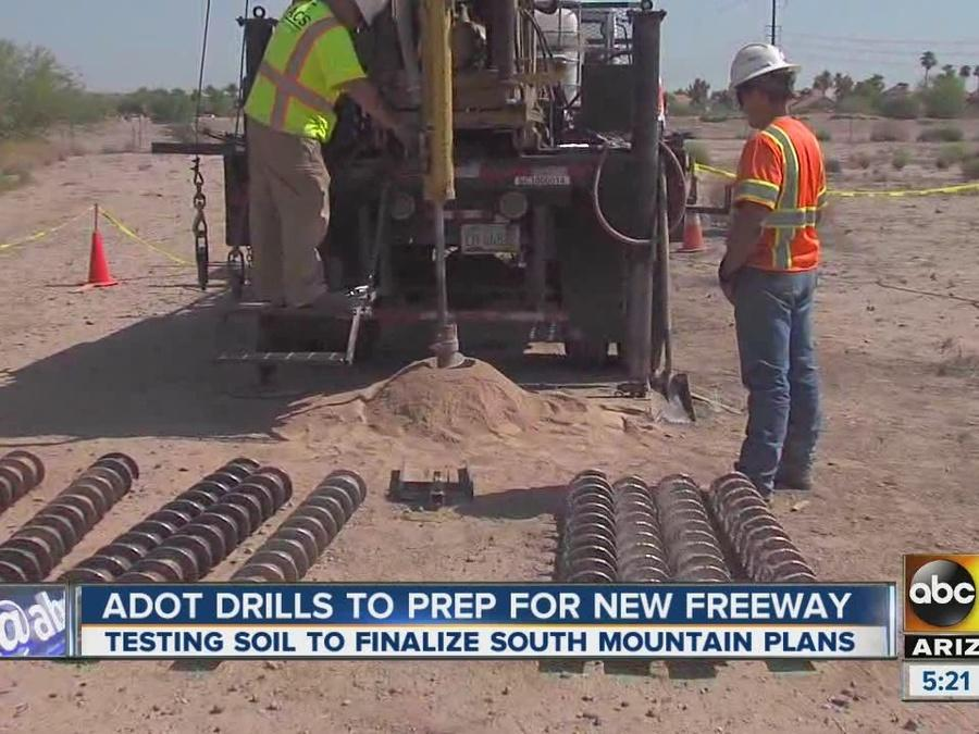 ADOT drills to prep for South Mountain Freeway