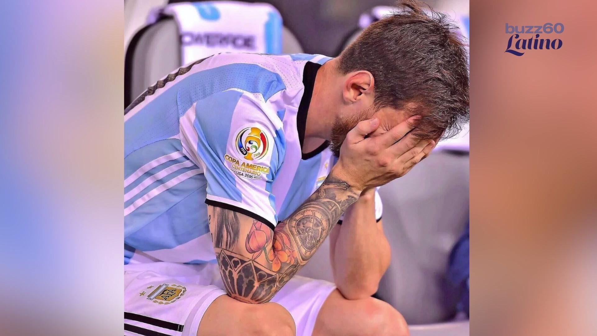 Niño Argentino Le Pide a Messi que No Se Retire