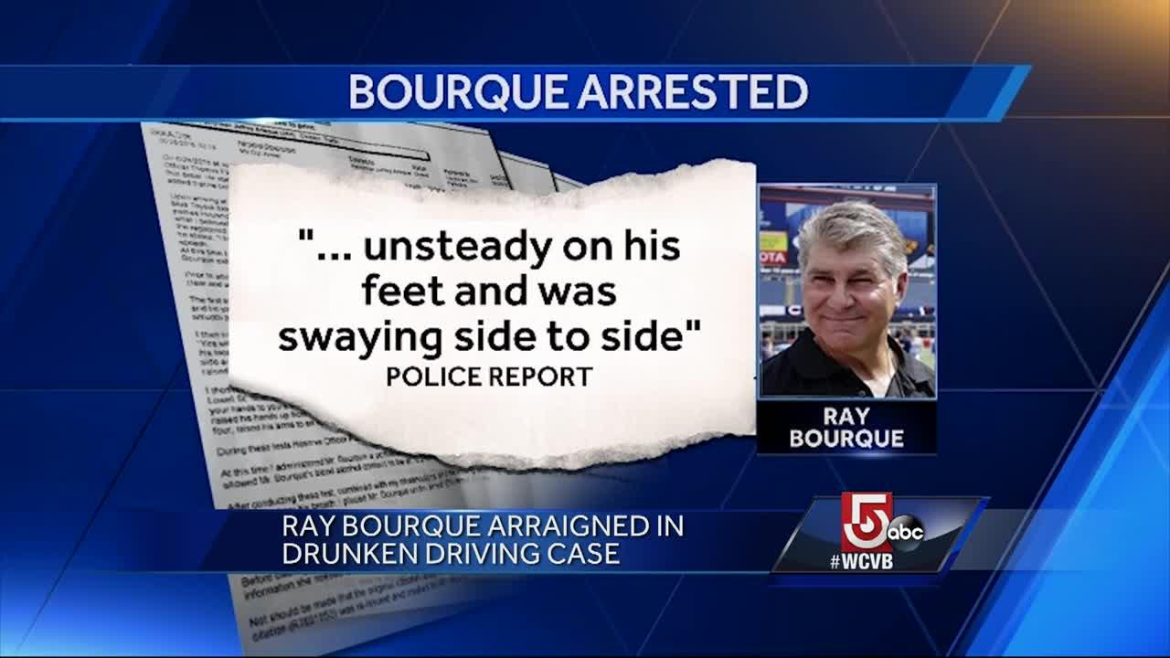 Boston sports hero told police he 'had a few drinks'