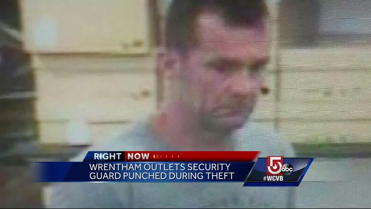 Man who allegedly robbed Wrentham mall store punched officer