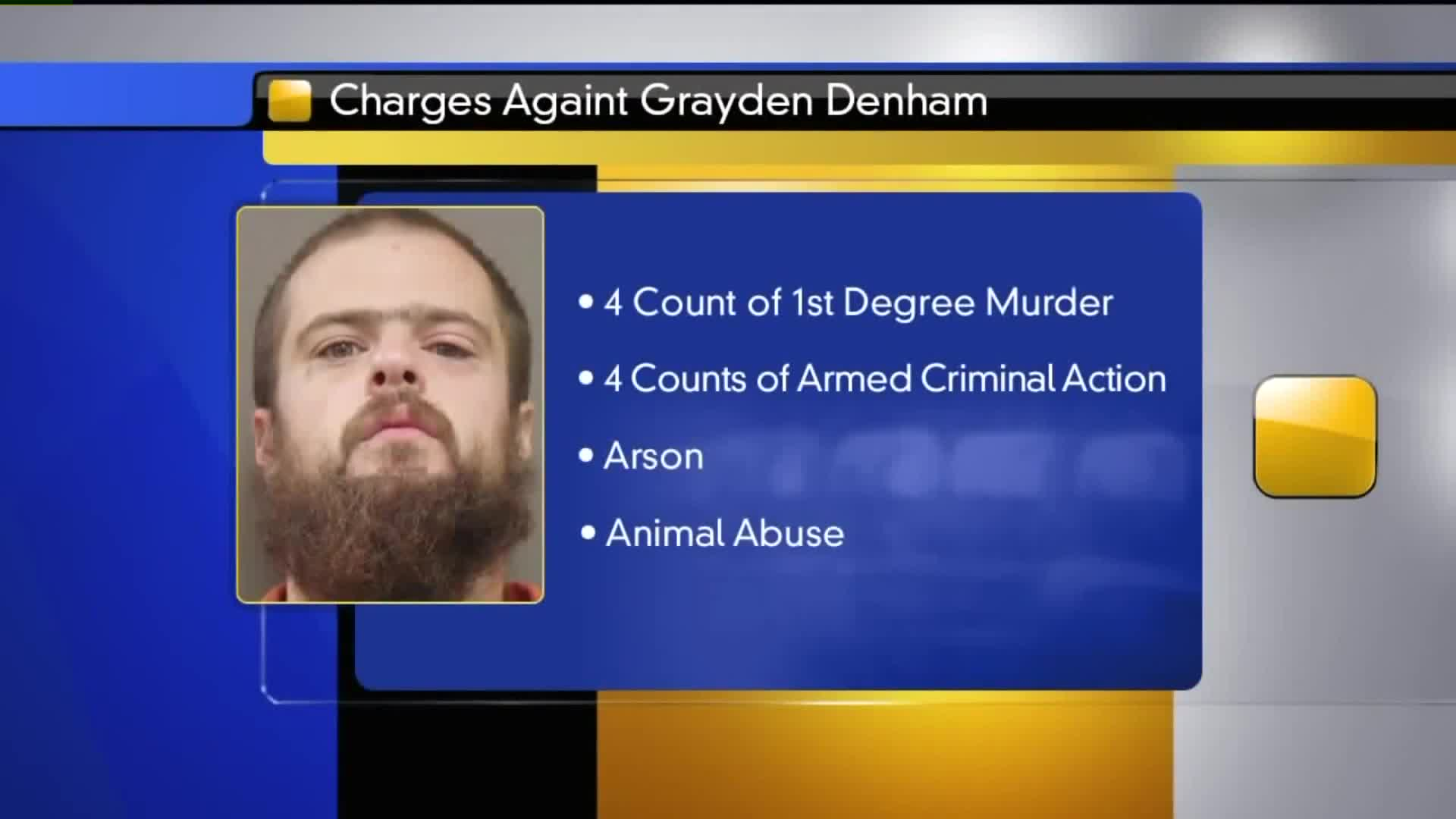 Missouri Man Charged in Quadruple Homicide of His Family