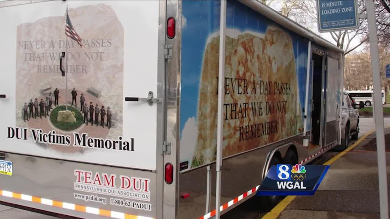 Mobile memorial for DUI victims coming to Lancaster