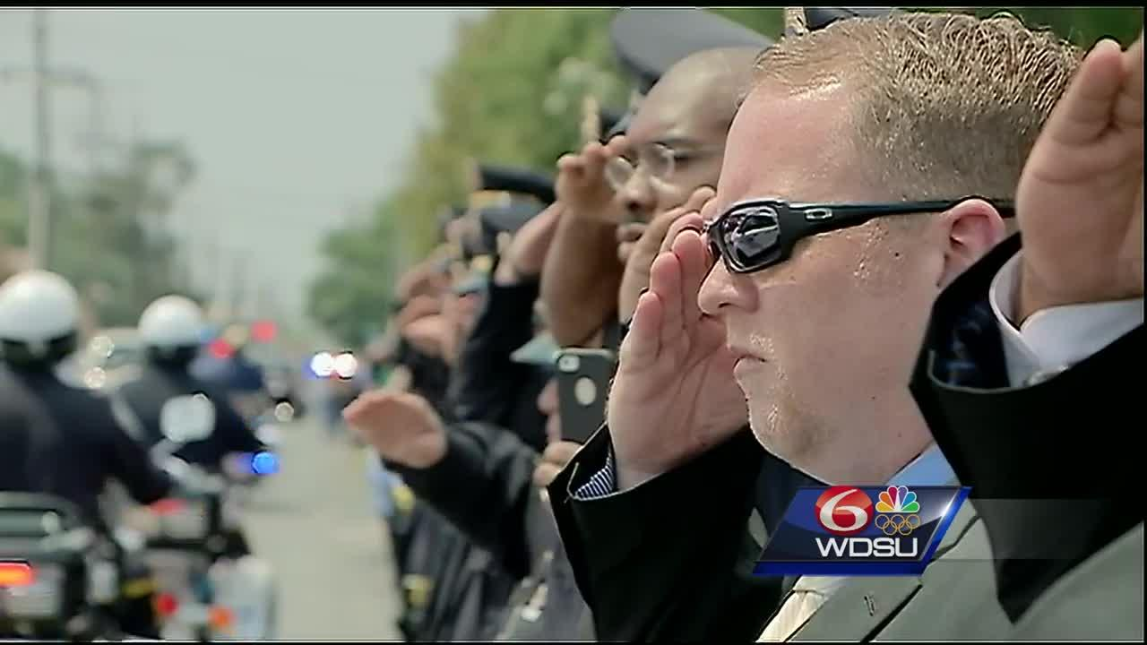 An emotional tribute as Deputy David Michel Jr. laid to rest