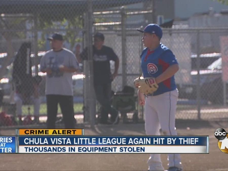 Thief targets Chula Vista Little League