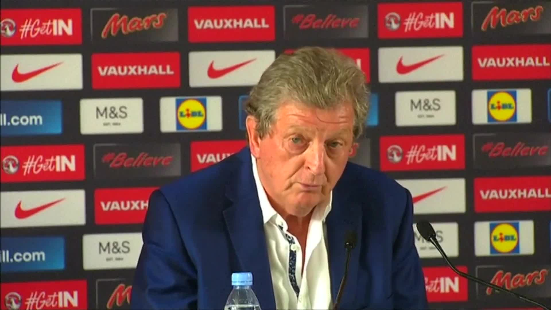 "Hodgson says ""didn't see defeat coming"" against Iceland"