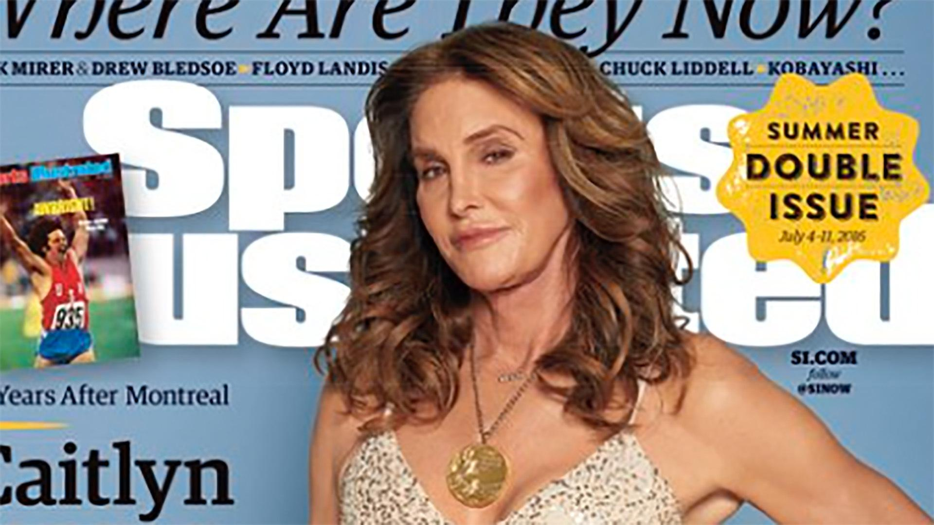 Caitlyn Jenner Poses on Cover of Sports Illustrated with Gold Medal