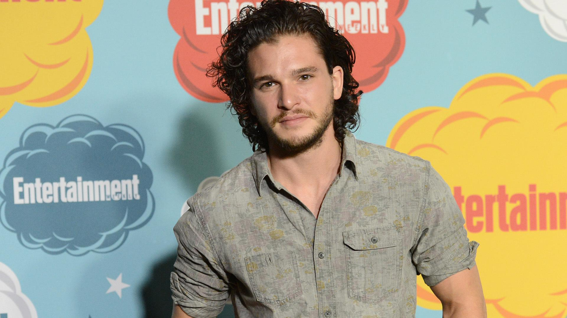 Kit Harrington Auditioned for GOT with a Black Eye