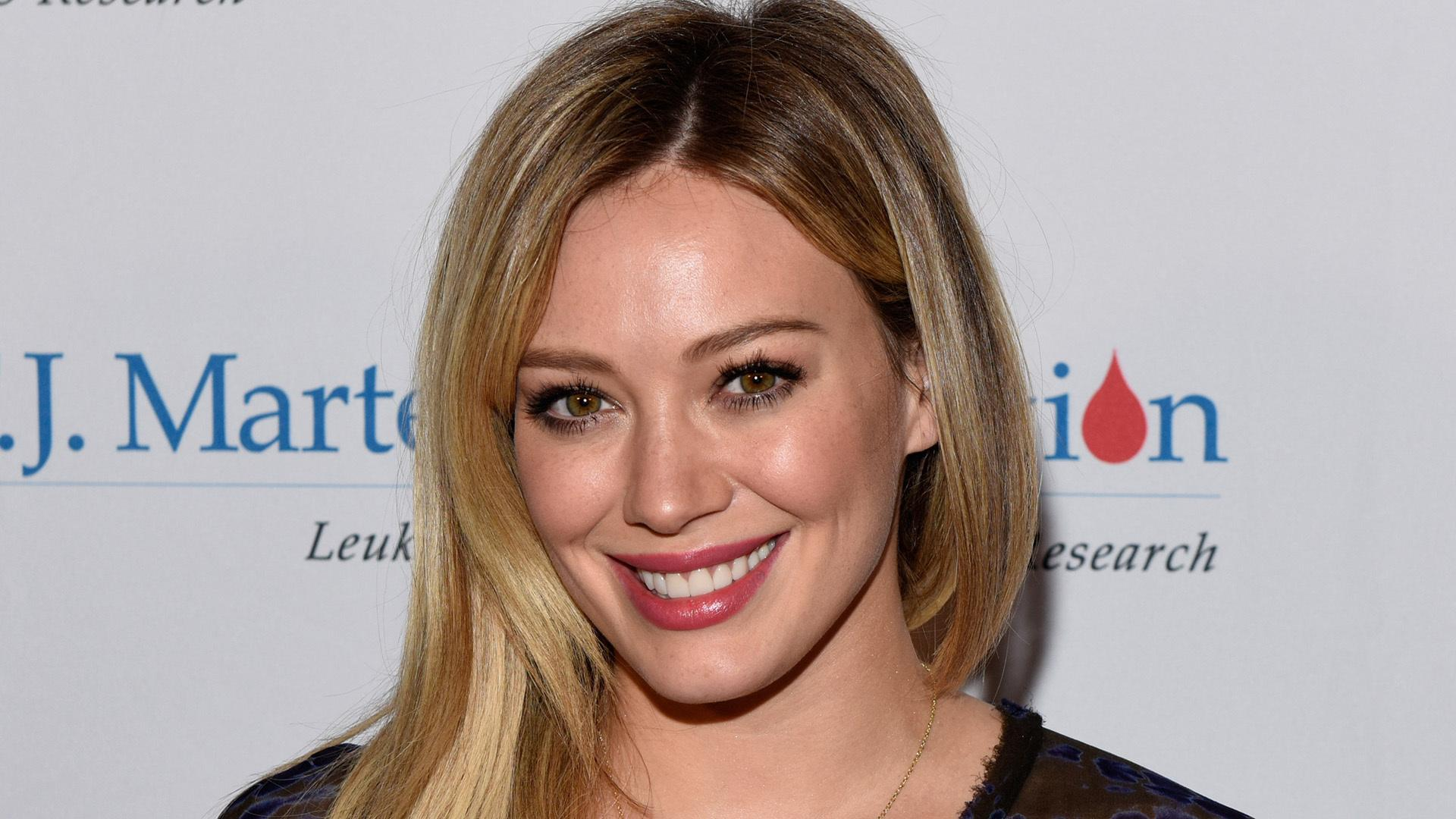 Hilary Duff Says She doesn't Need the Perfect Body