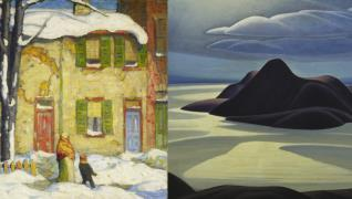 Steve Martin co-curates exhibit featuring Lawren Harris paintings