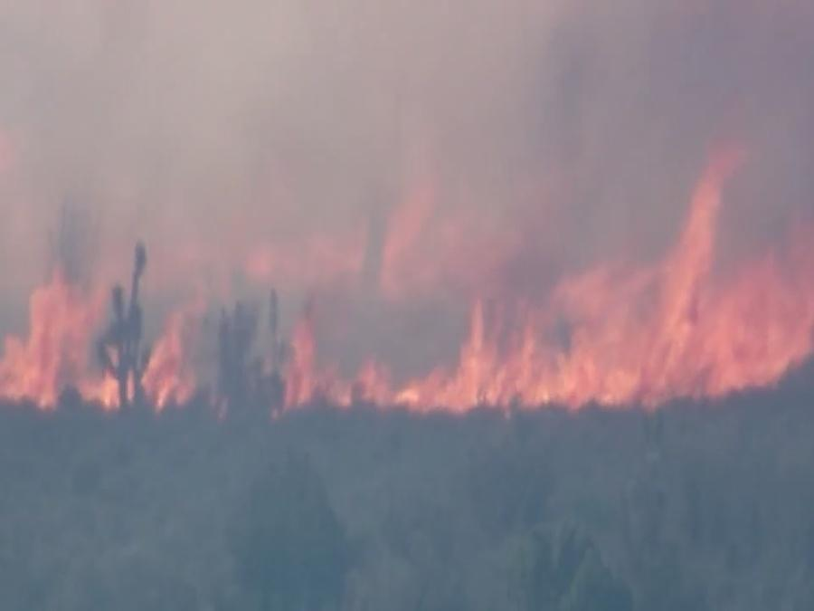 Lovell fire 95% contained