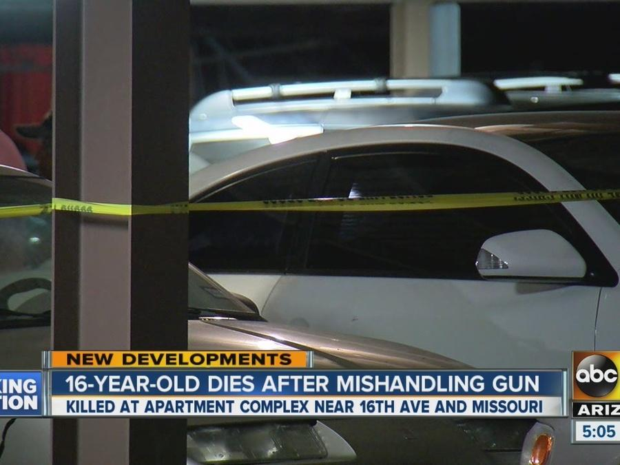 Teen killed after accidentally shooting himself