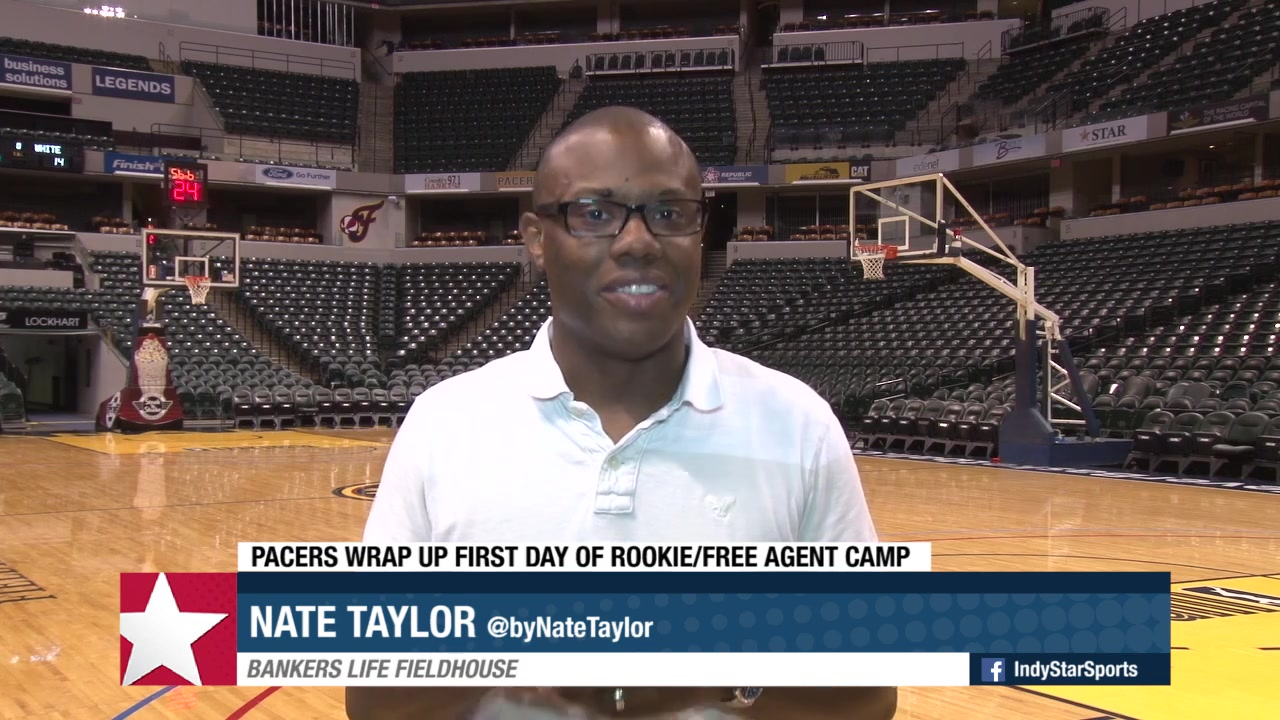 Insider: Pacers Wrap Up First Day of Rookie Camp