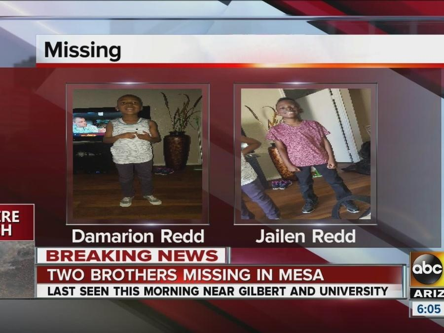 Two kids missing in Mesa
