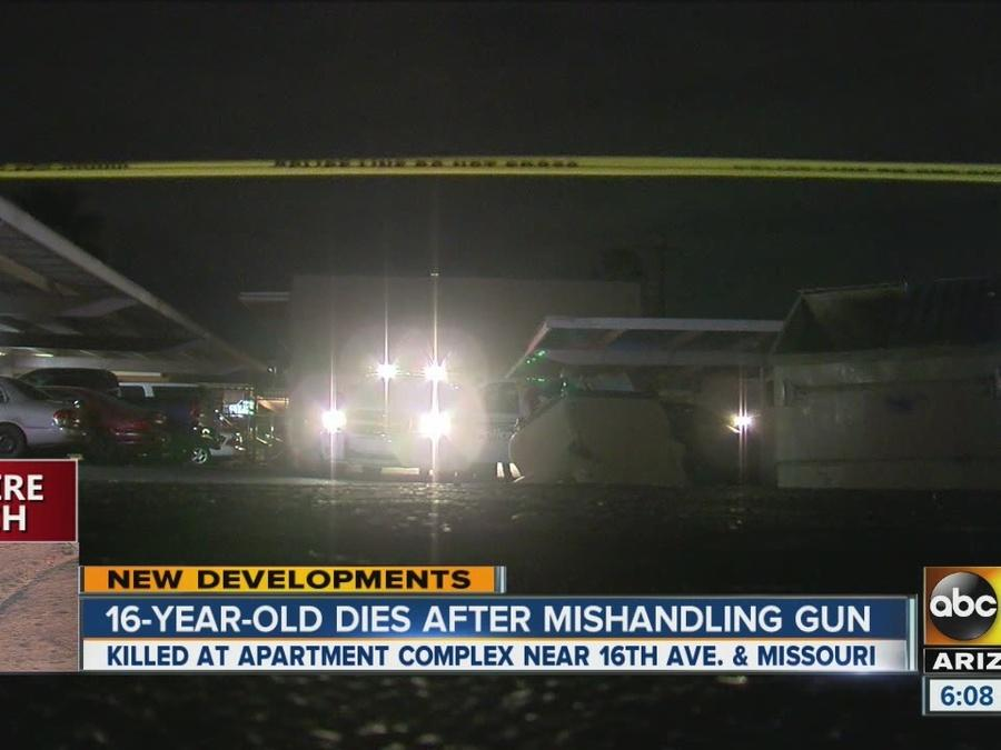 Teen dead in accidental shooting