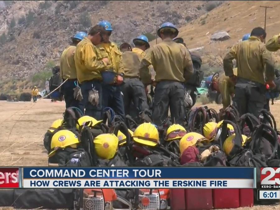 Tour of Erskine Fire command center