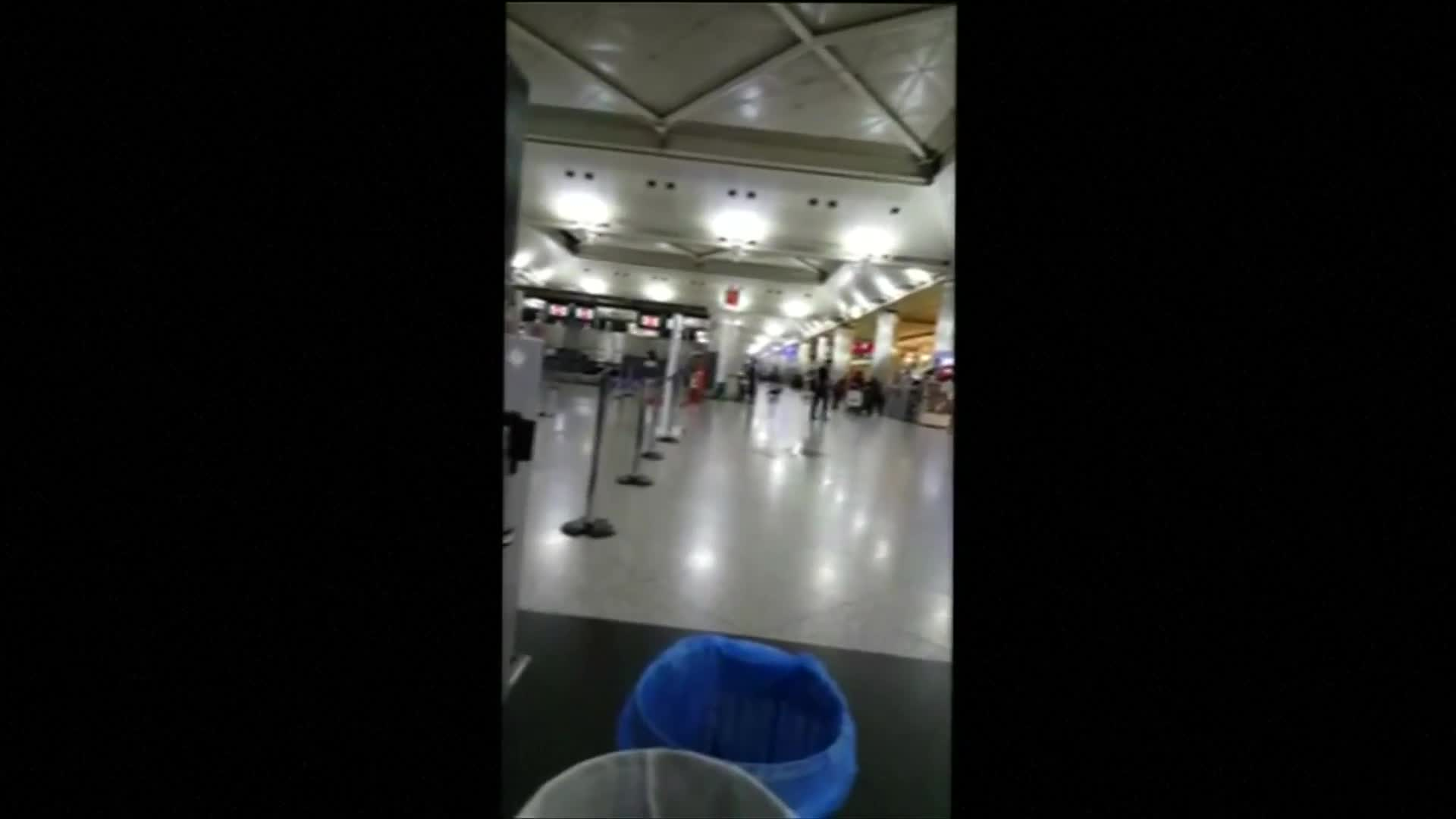 Amateur videos show Istanbul airport shortly after attack