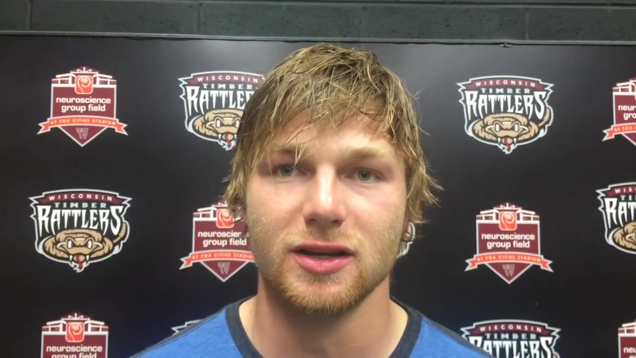 Conor Harber Talks Timber Rattlers