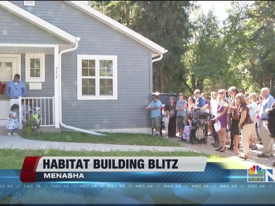 Habitat building blitz