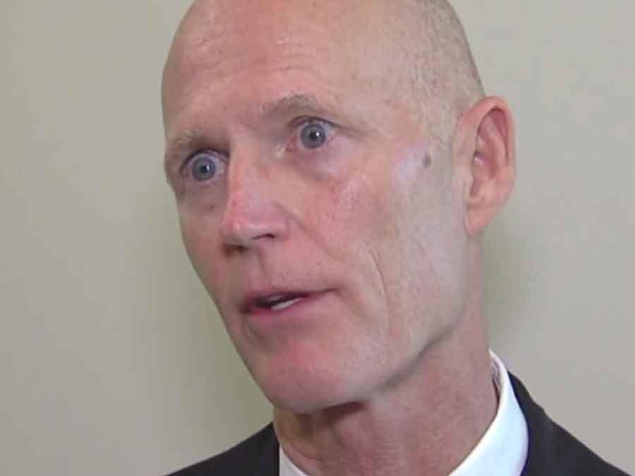 Gov. Rick Scott blames Army Corps of Engineers for algae blooms from Lake Okeechobee water releases