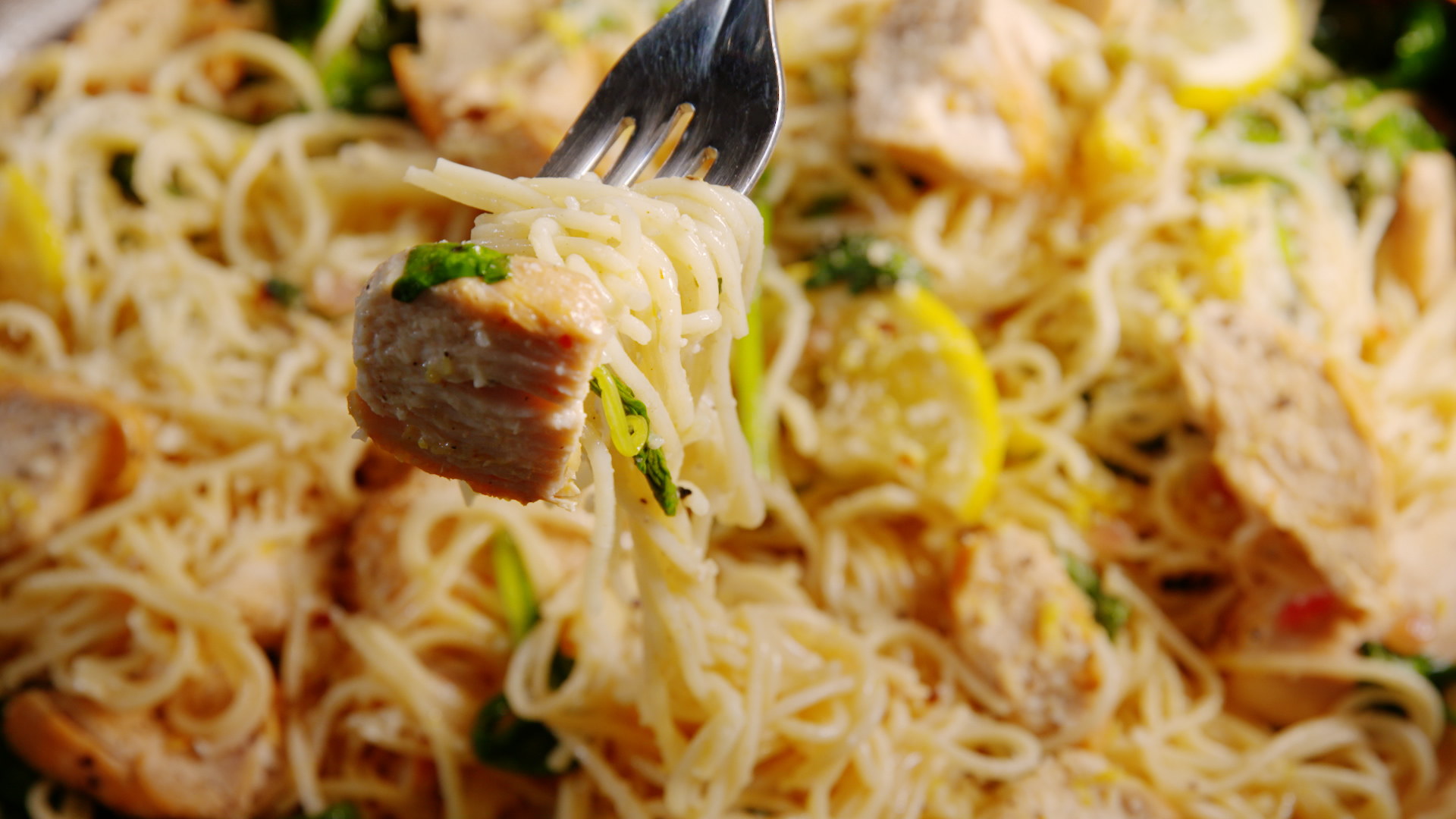 Lemon Butter Chicken Pasta Recipe