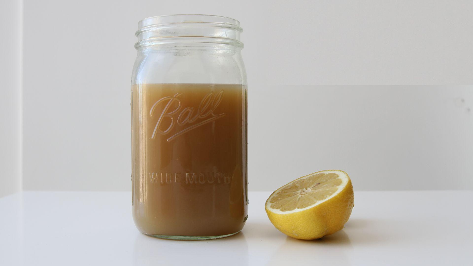 How to Make Soothing Lemon Ginger Brew