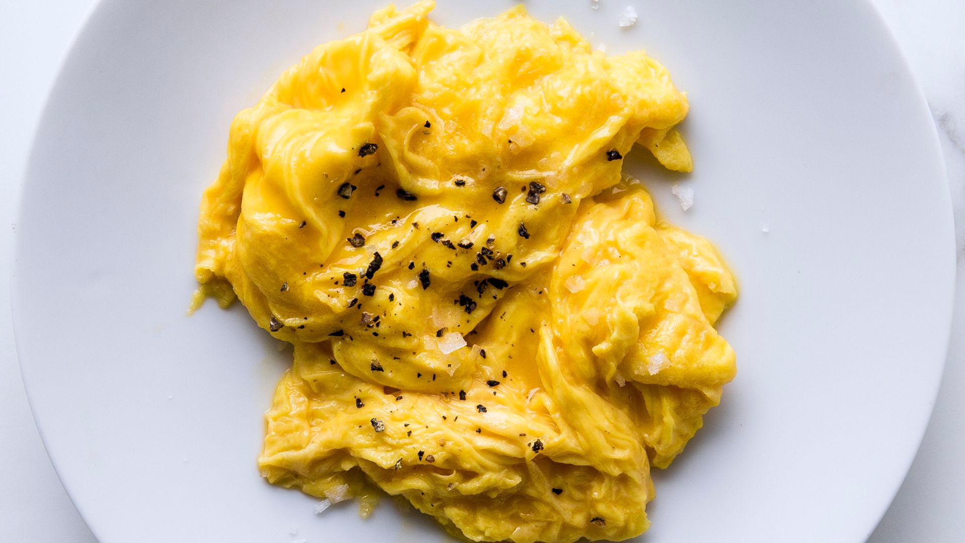 Perfect Soft Scrambled Eggs
