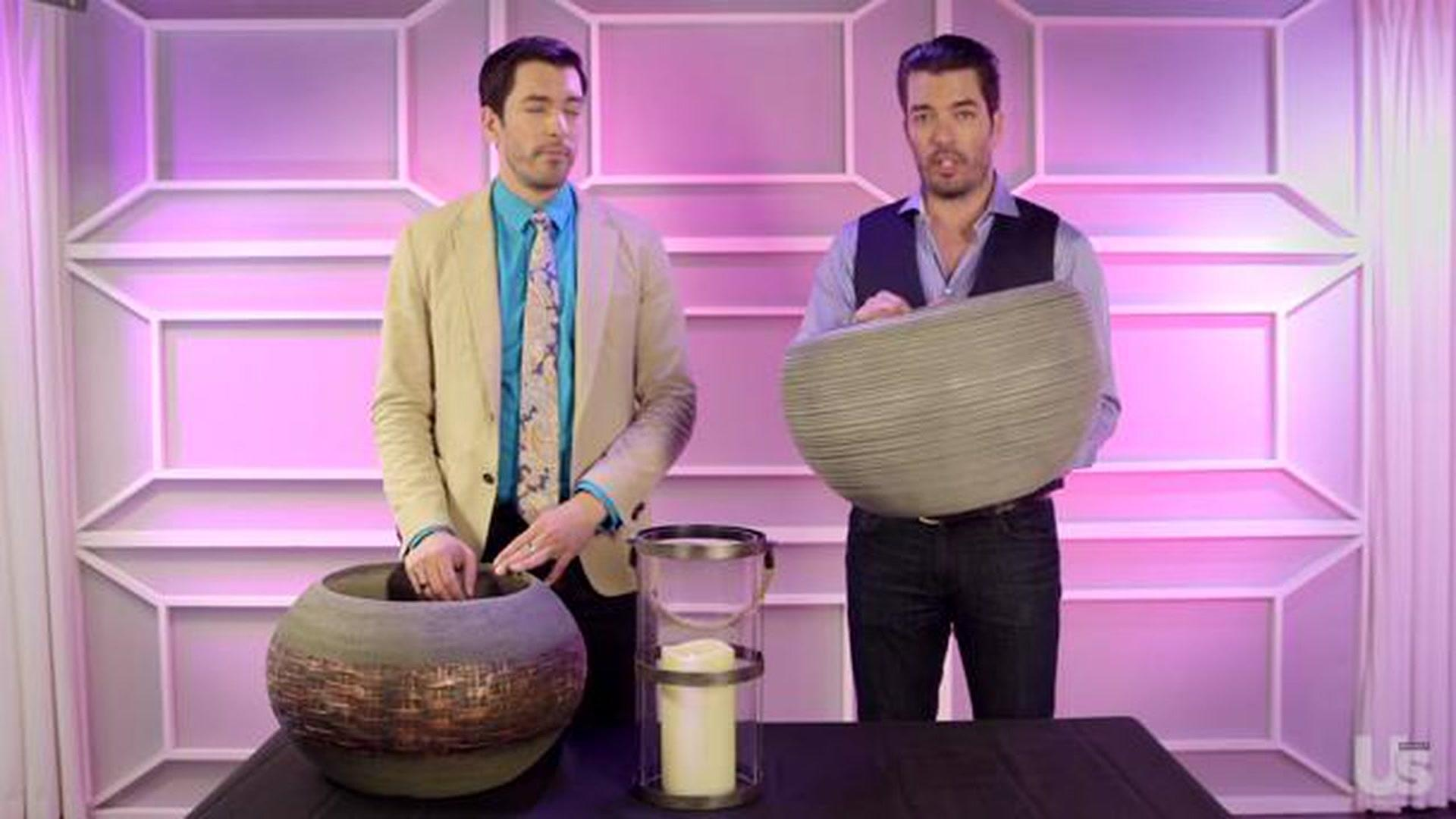 The Property Brothers Give Home Decor Tips