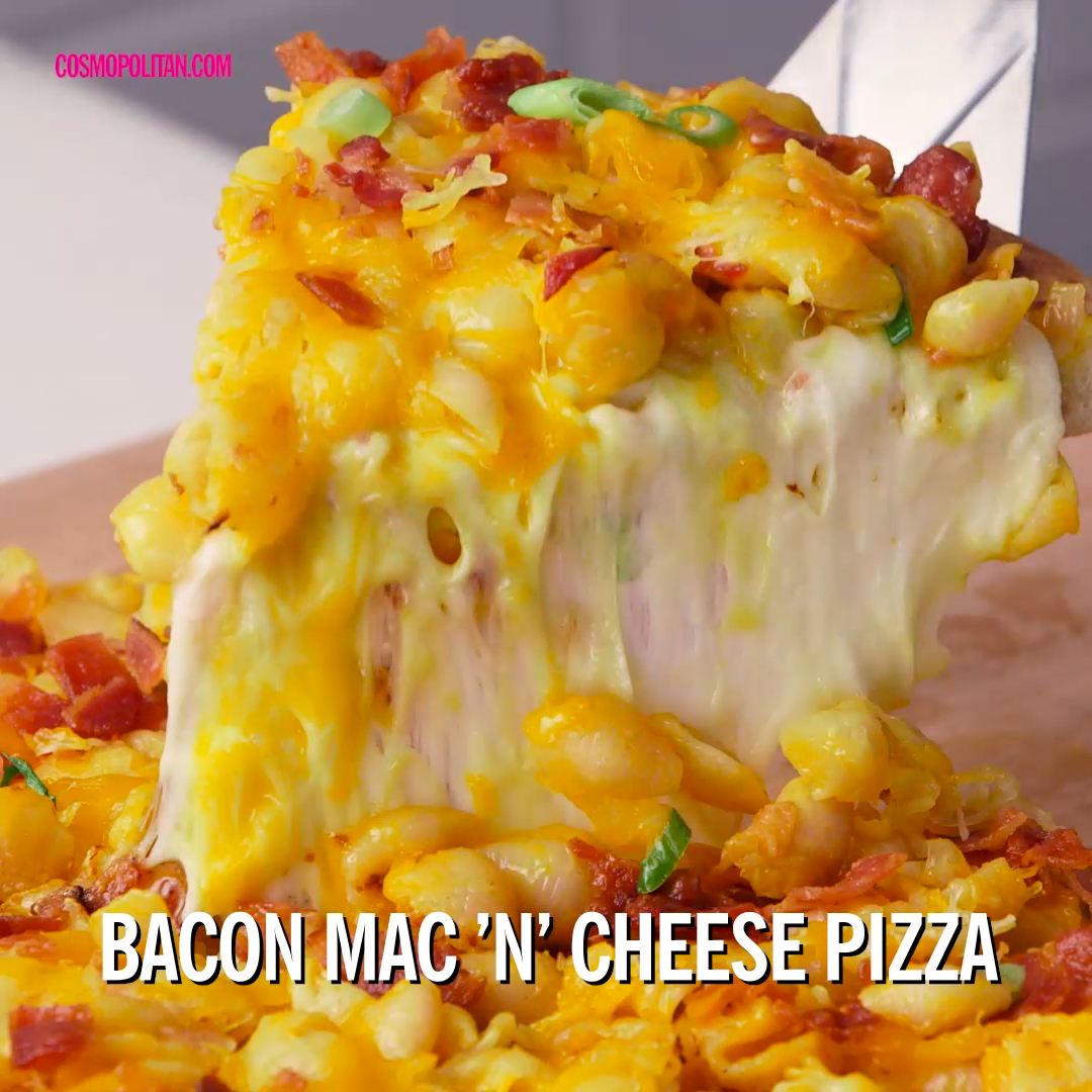 How to Make Bacon Mac 'N' Cheese Pizza