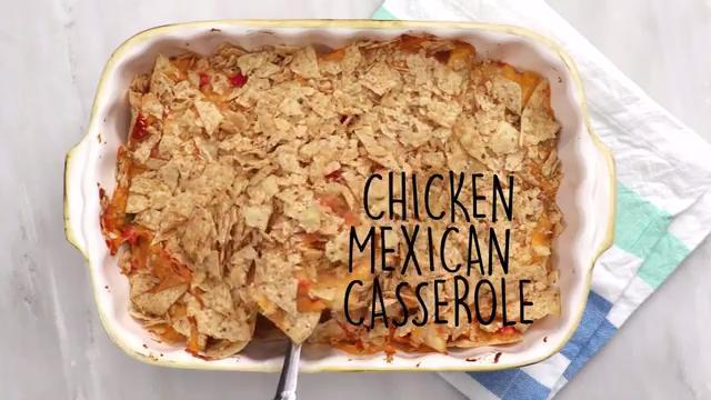 How to Make Chicken Mexican Casserole