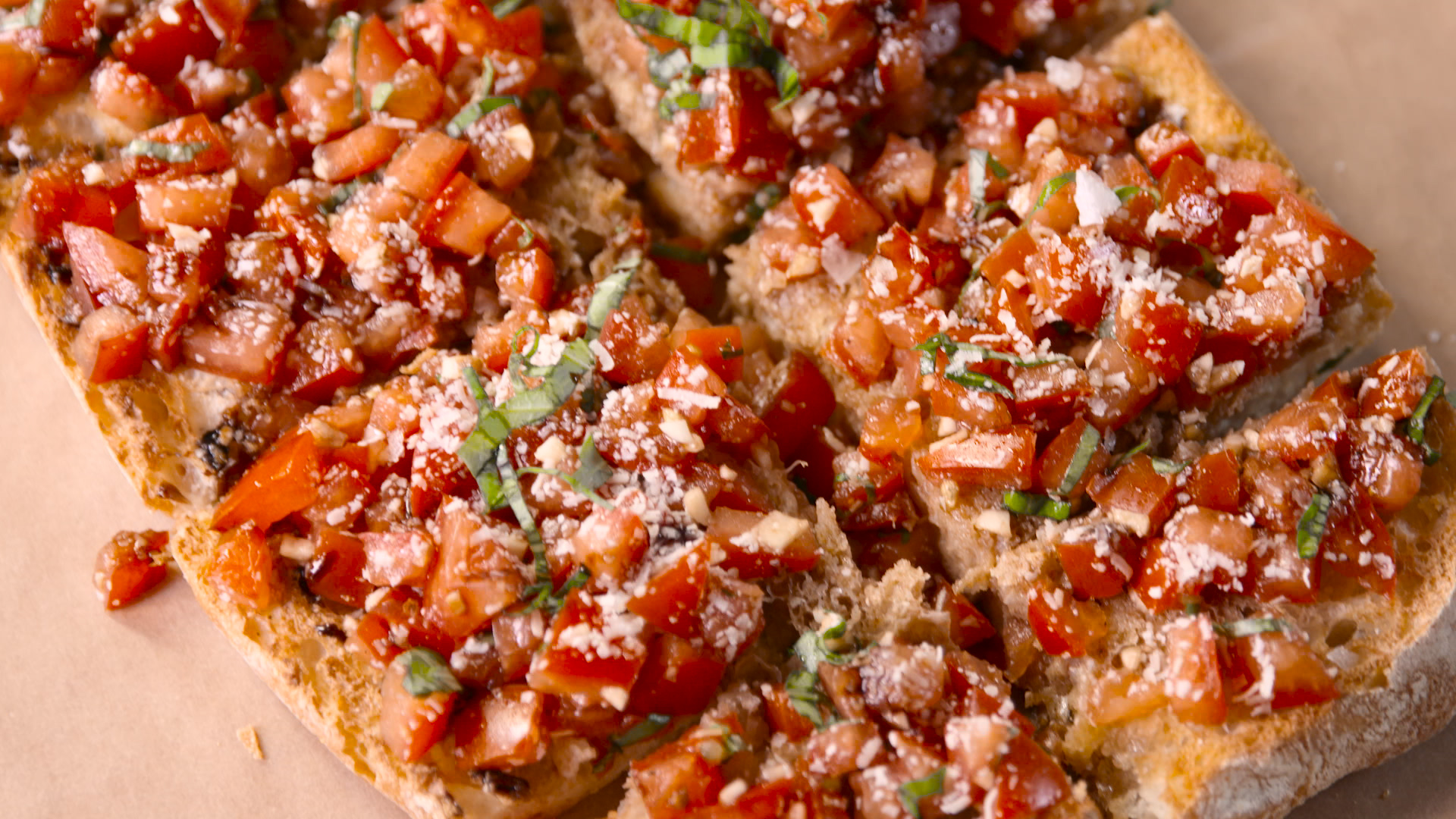 How to Make a Super-Size Bruschetta