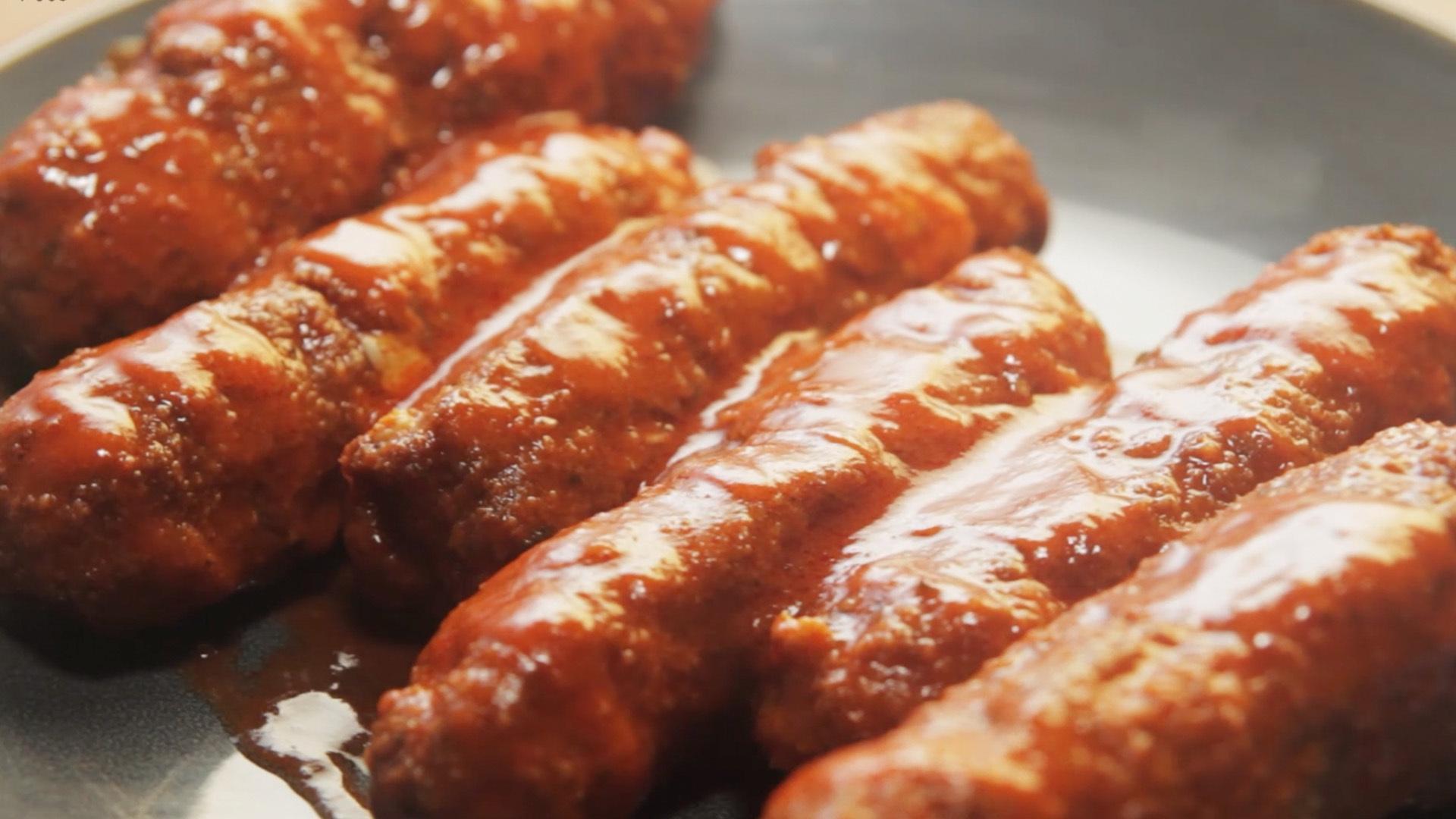 Buffalo Chicken Mozzarella Sticks
