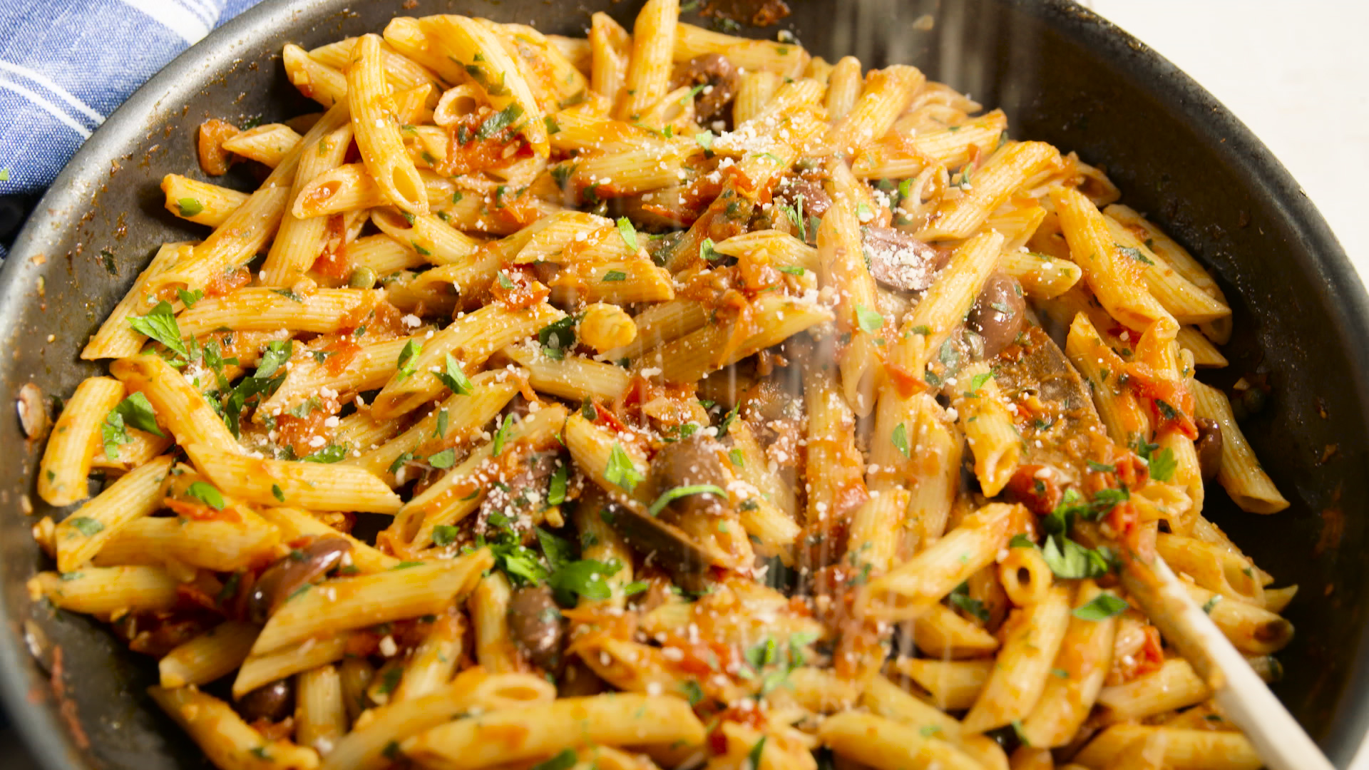 Penne Puttanesca Recipe