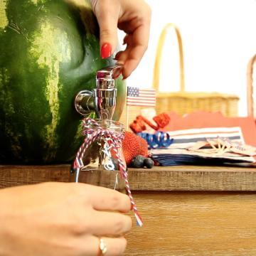 How to Make a Watermelon Shandy