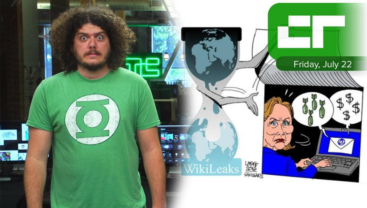 Crunch Report | WikiLeaks Publishes DNC Emails
