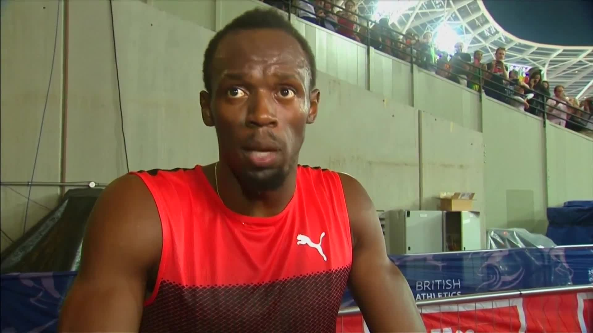 Usain Bolt satisfied with 200m race victory