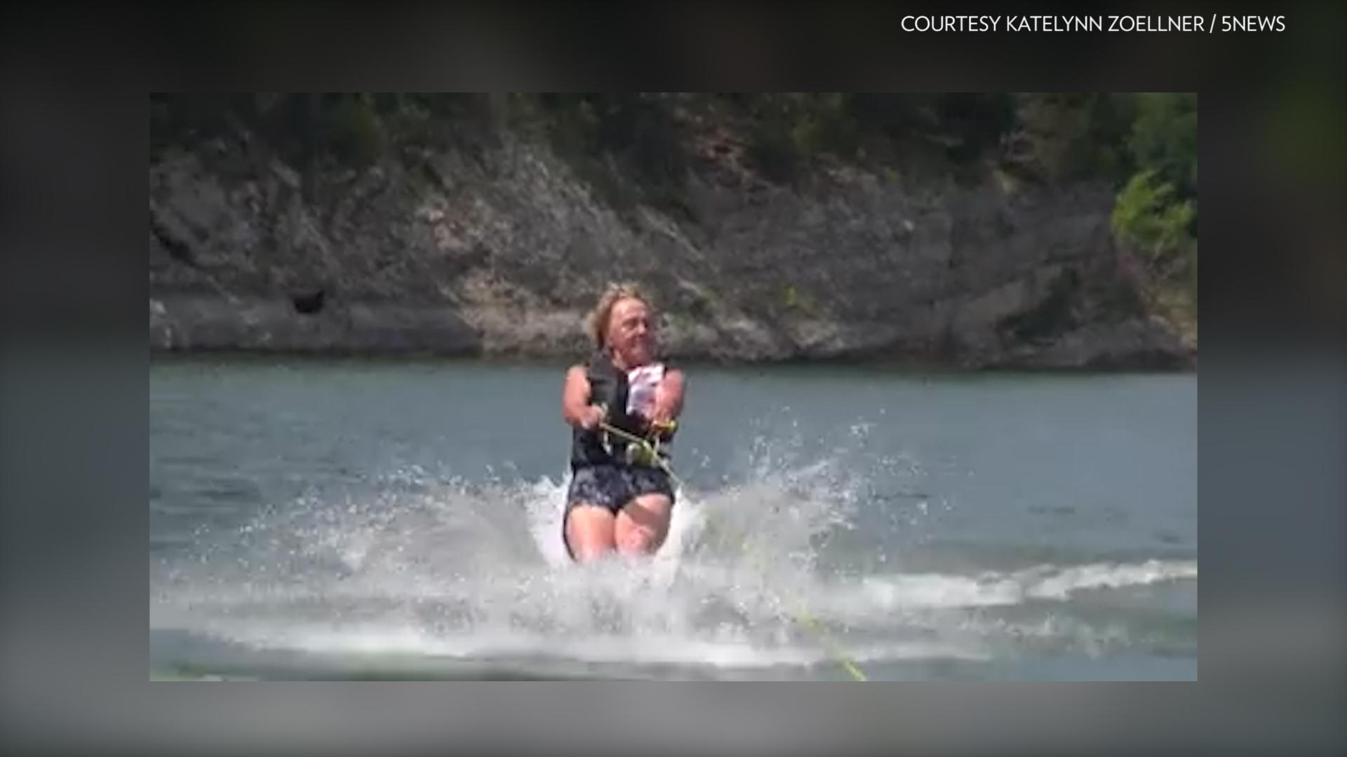 90-Year-Old Water-Skiing Granny Says 'It's No Fun Sitting at Home in a Rocking Chair!'
