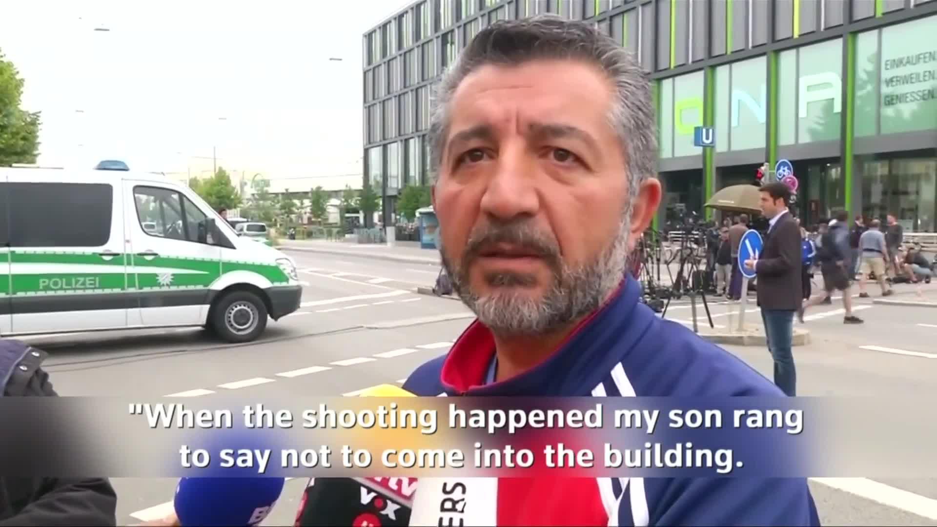 Munich attack witnesses describe 'bloodbath'