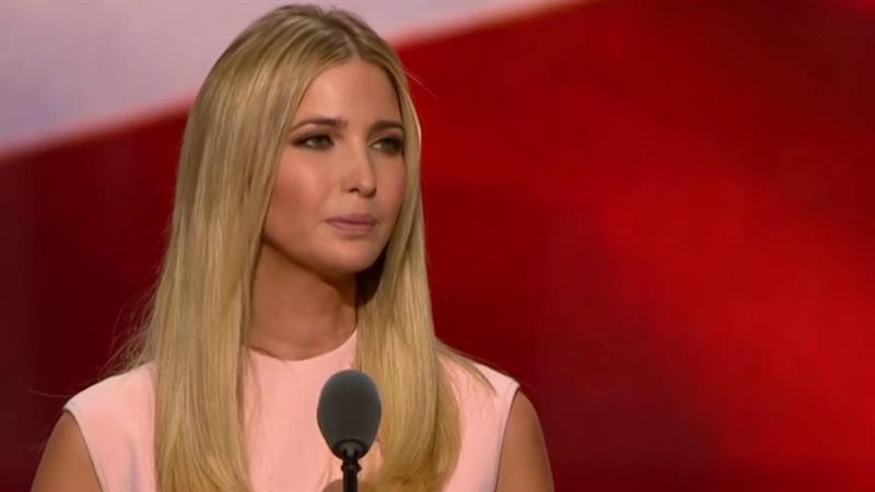 Ivanka Trump makes bid for women