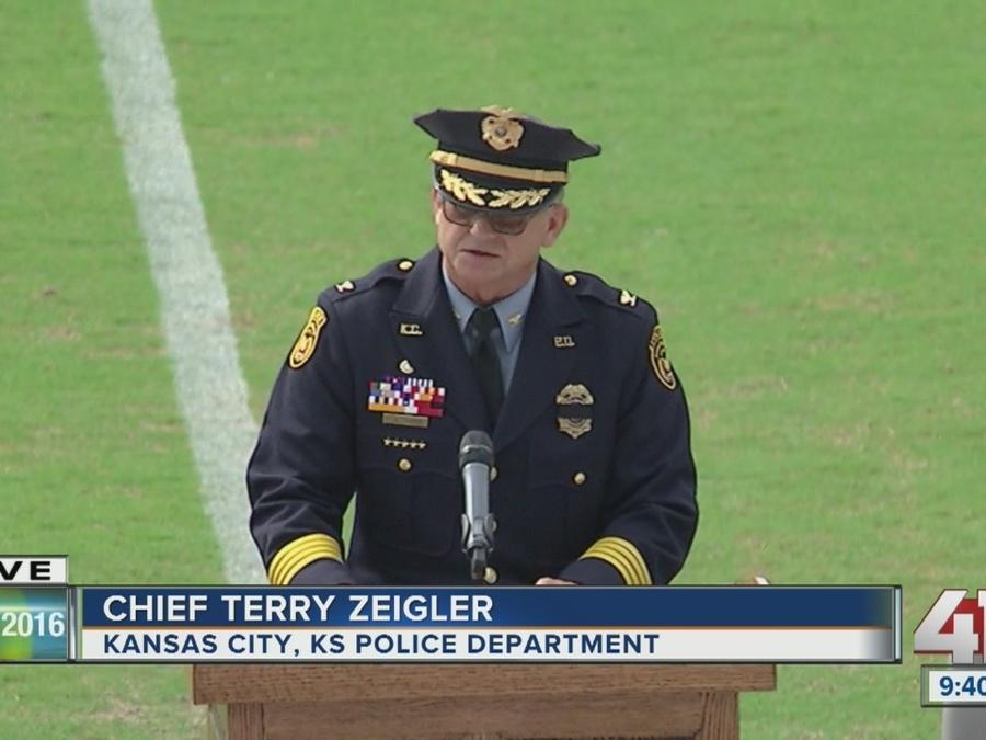 Terry Zeigler's emotional tribute to Captain Dave Melton