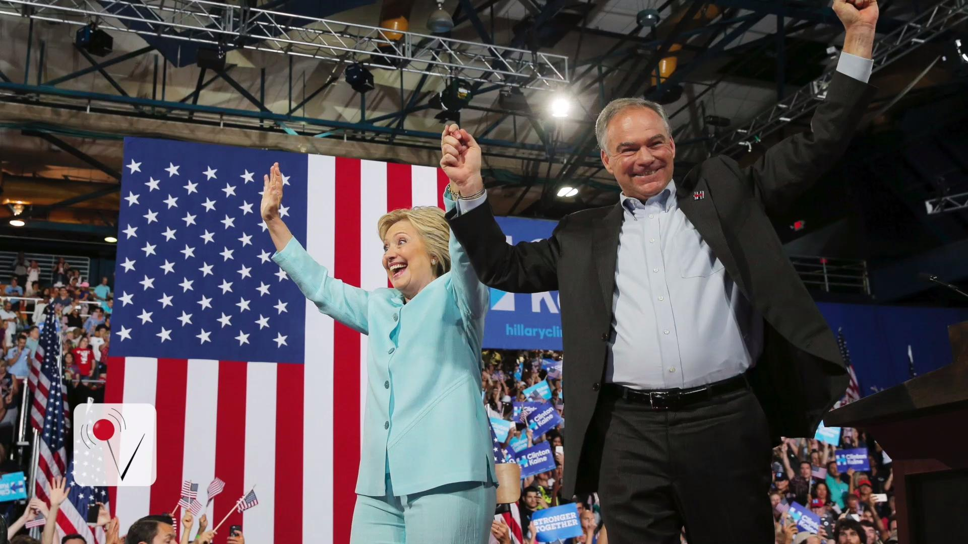 The Debut of the 2016 Democratic Ticket