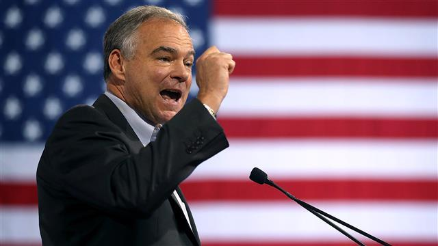 Kaine Introduces Himself as Clinton's Running Mate