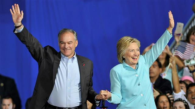 Kaine: Clinton 'Has Always Delivered'